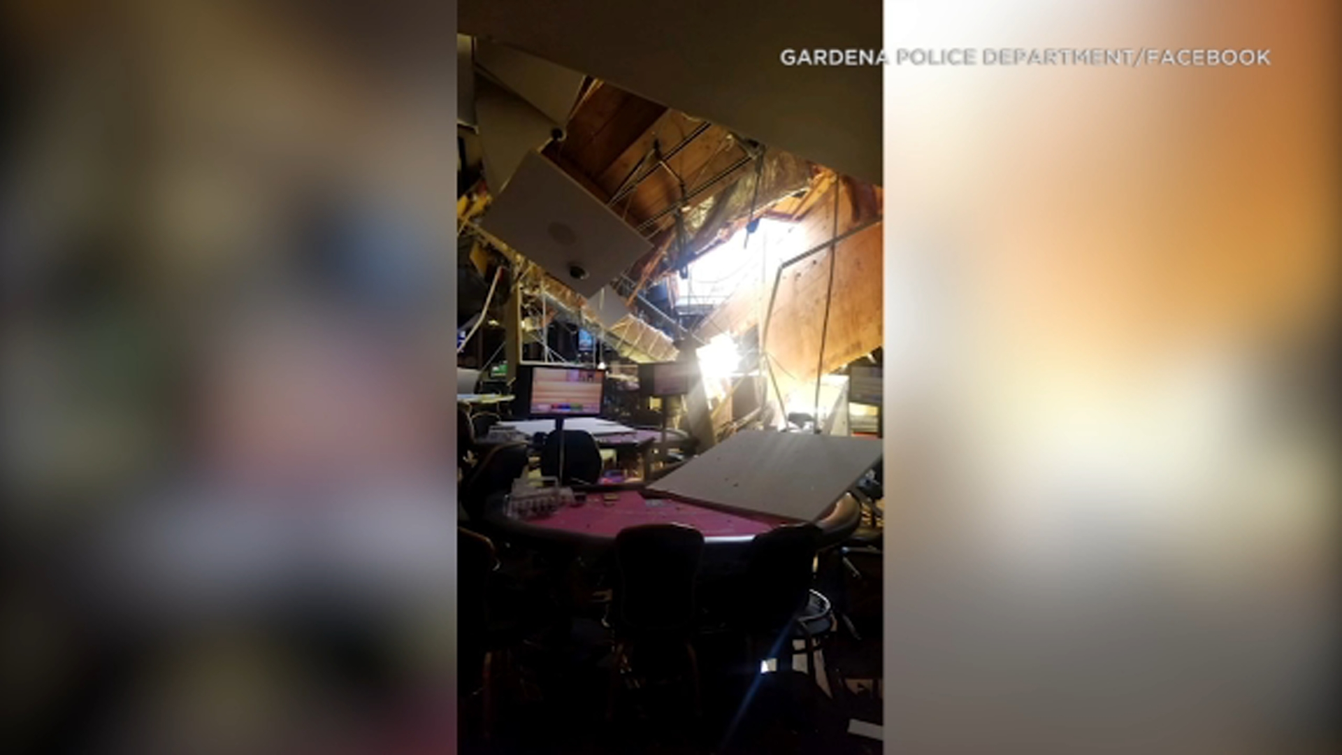 Multiple people injured after roof collapses at Lucky Lady Casino in Gardena