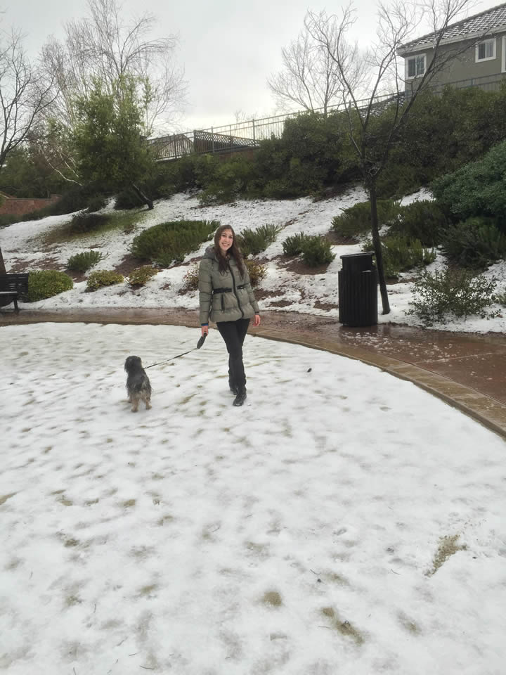 "<div class=""meta image-caption""><div class=""origin-logo origin-image kgo""><span>KGO</span></div><span class=""caption-text"">Hail fell at the Silver Creek Valley Country Club in San Jose, Calif. on Feb. 28, 2015. (Photo submitted by Shelley via uReport)</span></div>"