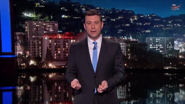Jimmy Kimmel on 'Jimmy Kimmel Live!'