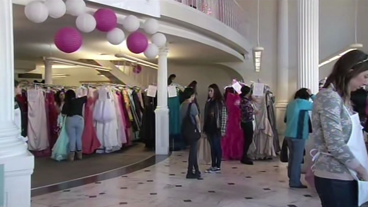 Prom season is almost upon us and for the twelfth year in a row, a San Francisco non-profit is giving away dresses to Bay Area teenagers.