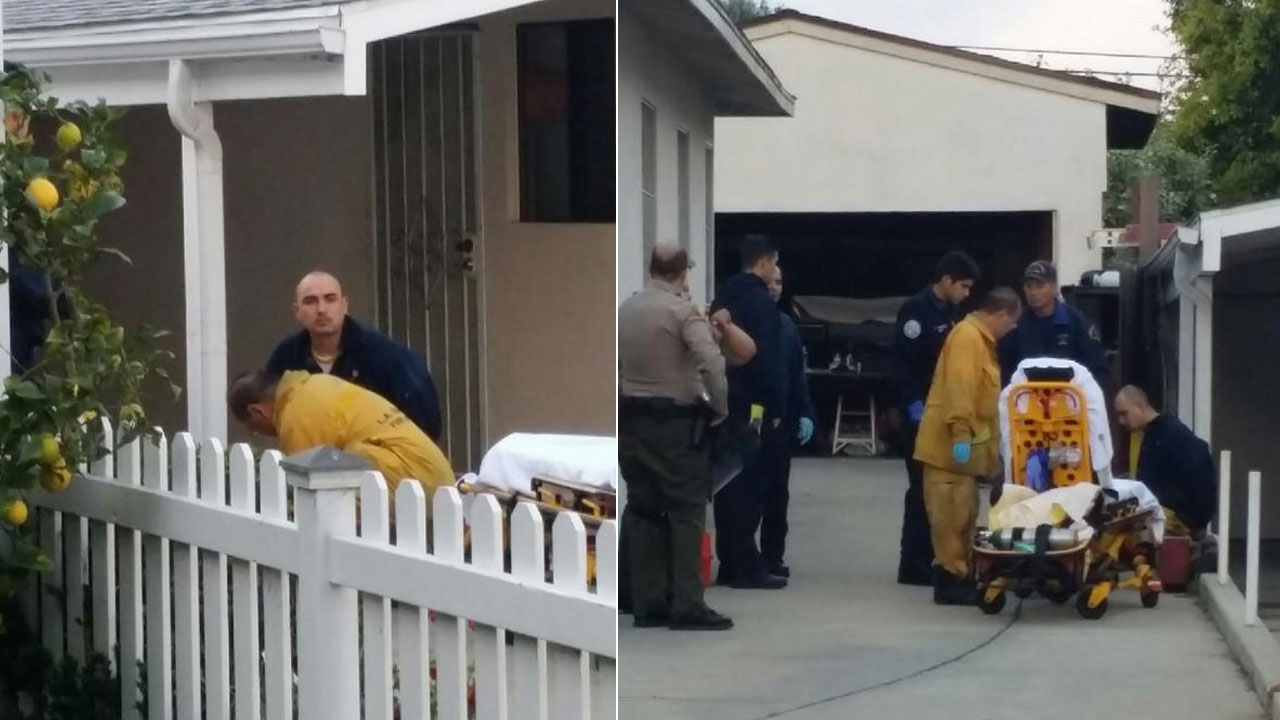 An inmate who escaped from the sheriff's Lomita Station was found hiding in a covered Jacuzzi in a nearby backyard Sunday, March 1, 2015.