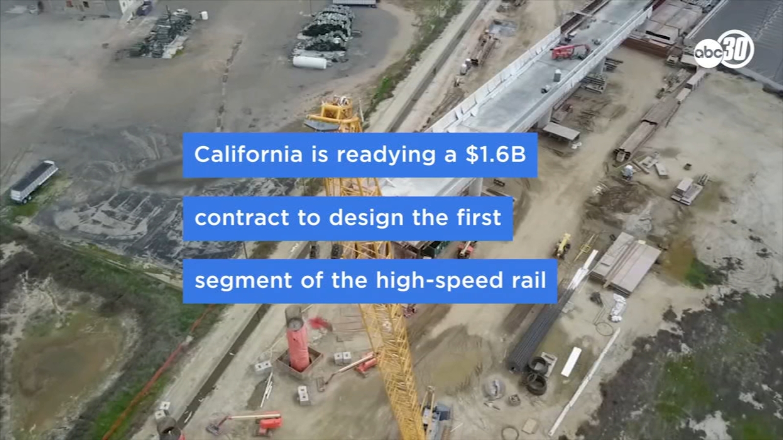 California High-Speed Rail: State readies $1.6 billion design contract