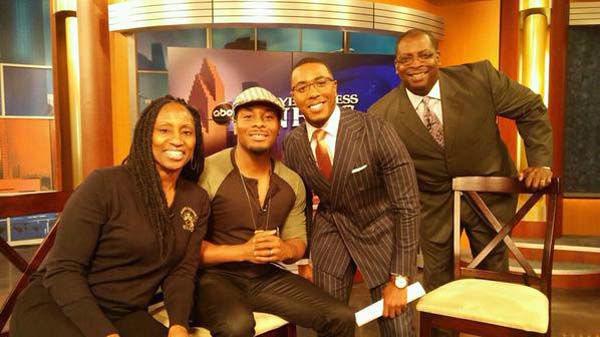 """<div class=""""meta image-caption""""><div class=""""origin-logo origin-image none""""><span>none</span></div><span class=""""caption-text"""">Kel Williams stopped by the newsroom to promote the Black College Expo (KTRK Photo)</span></div>"""