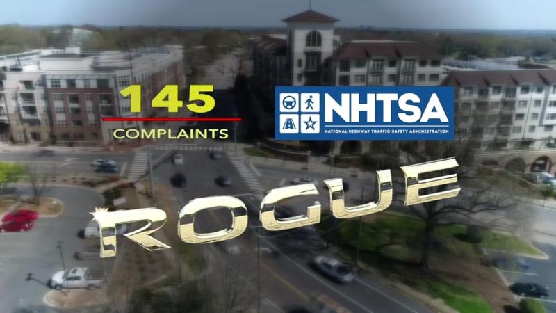 Complaints mount against Nissan Rogue