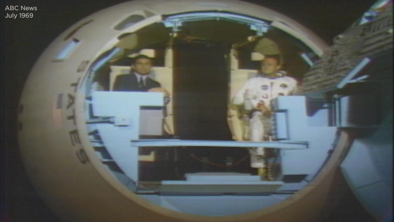 Apollo 11 anniversary: Go inside mock Apollo command module, learn how it works