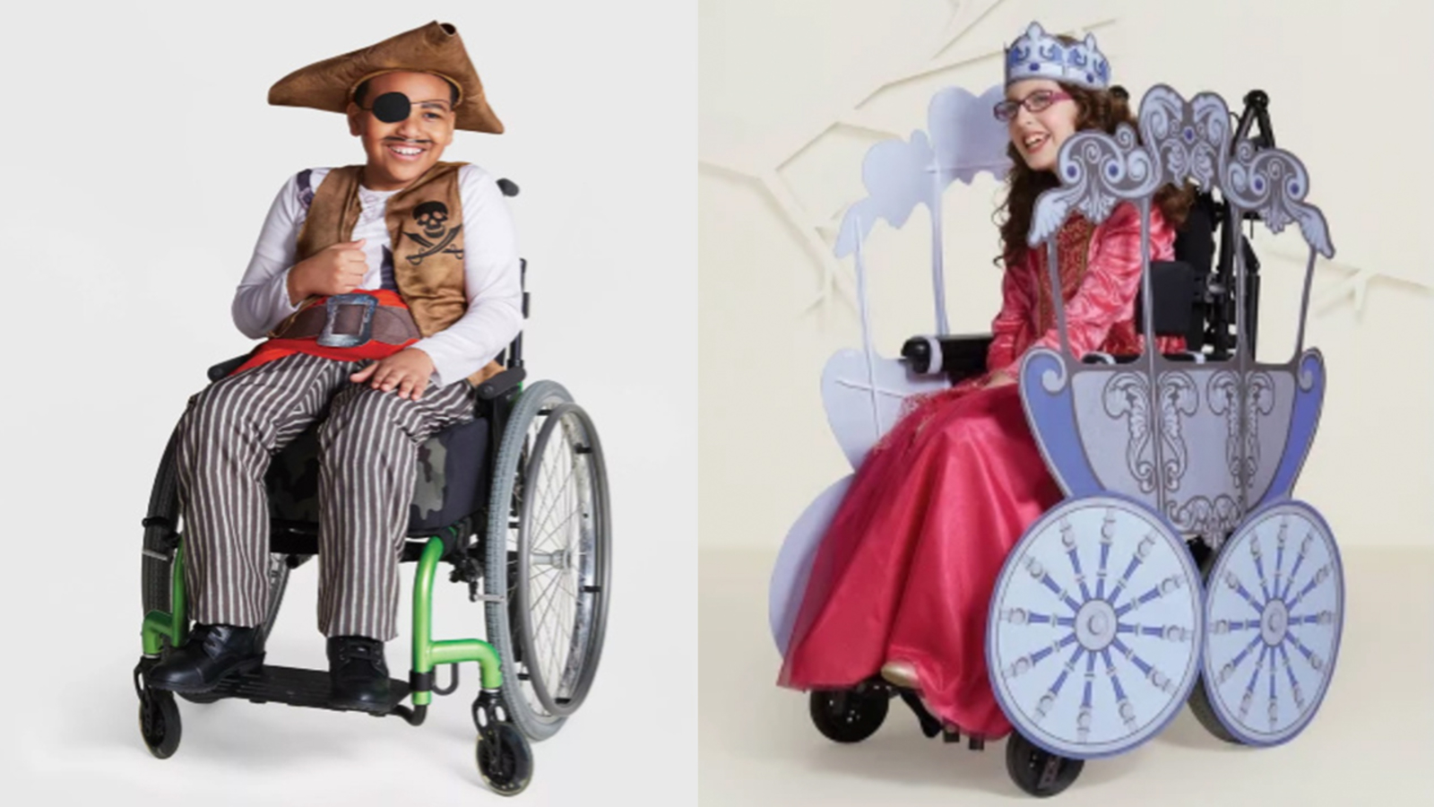 Target selling Halloween costumes for children with disabilities