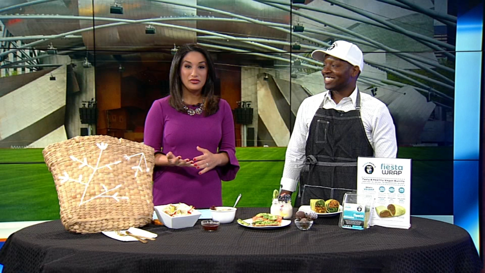 Healthy summer picnic ideas by Chef LaForce Baker