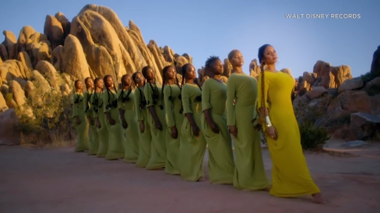 New details about where Beyonce filmed 'Spirit' music video for 'Lion King' soundtrack