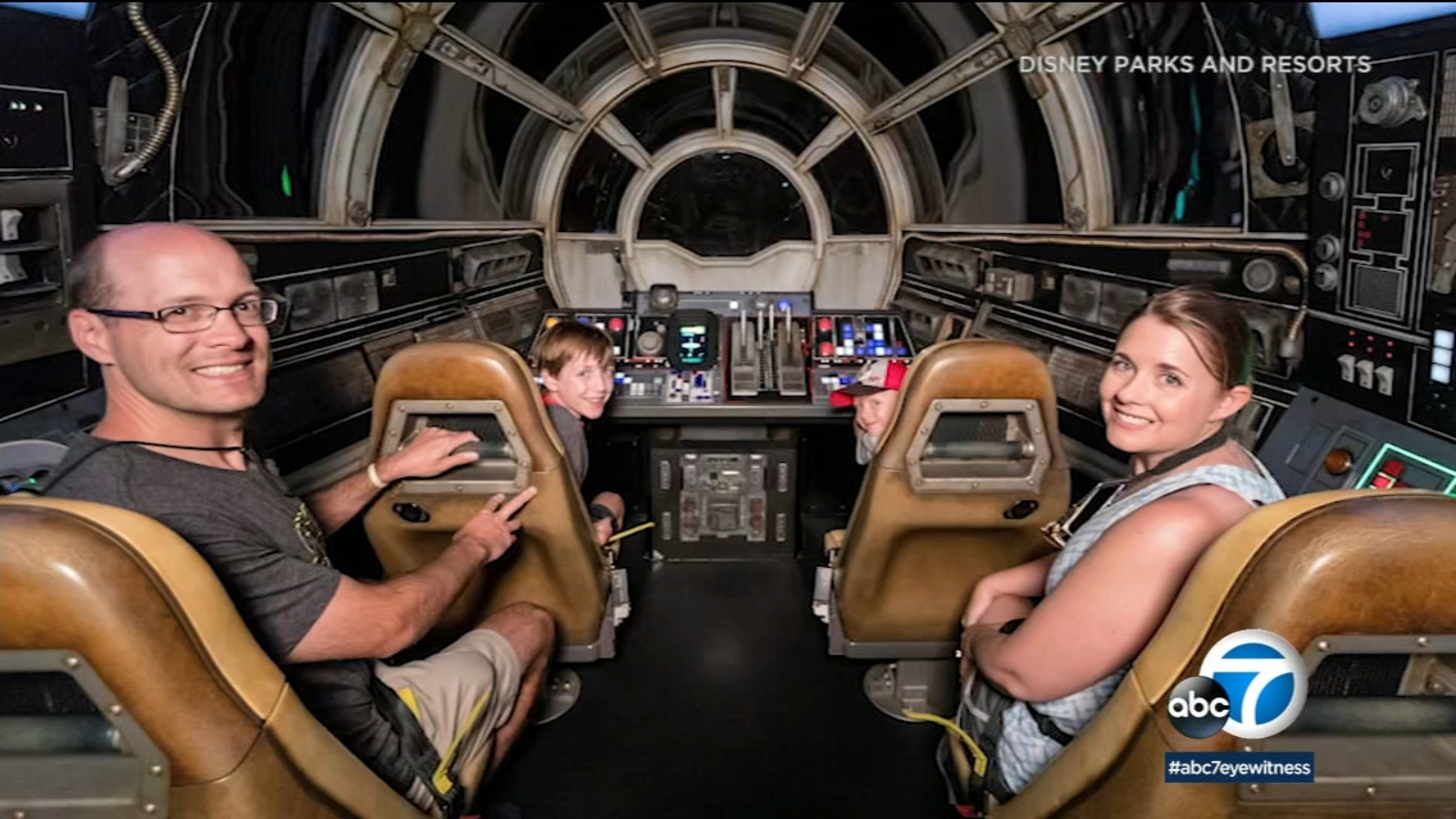 Disneyland's Millennium Falcon ride welcomes 1 millionth 'flight crew' six weeks after opening
