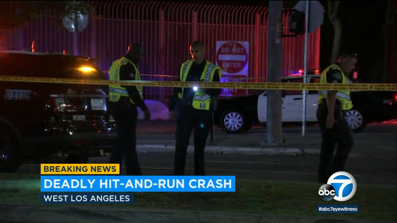 Man killed in hit-and-run in West L.A.