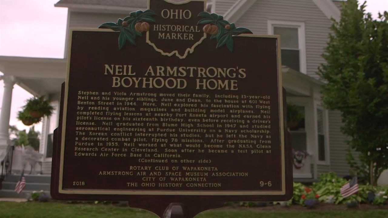 Neil Armstrong's small Ohio hometown celebrates special connection to moon landing
