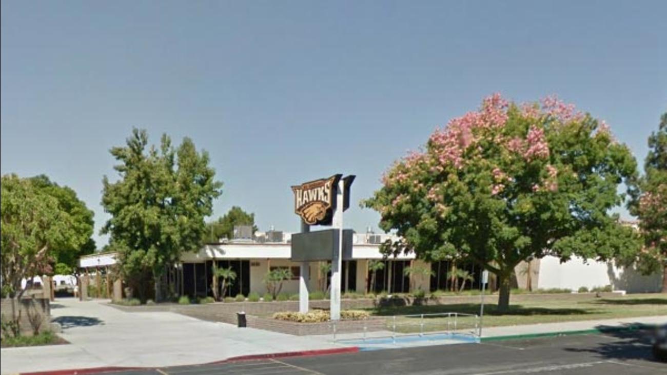 This Google Maps image shows the exterior of El Dorado High School in Placentia, Calif.