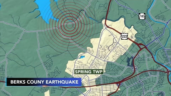 Earthquake | 6abc com