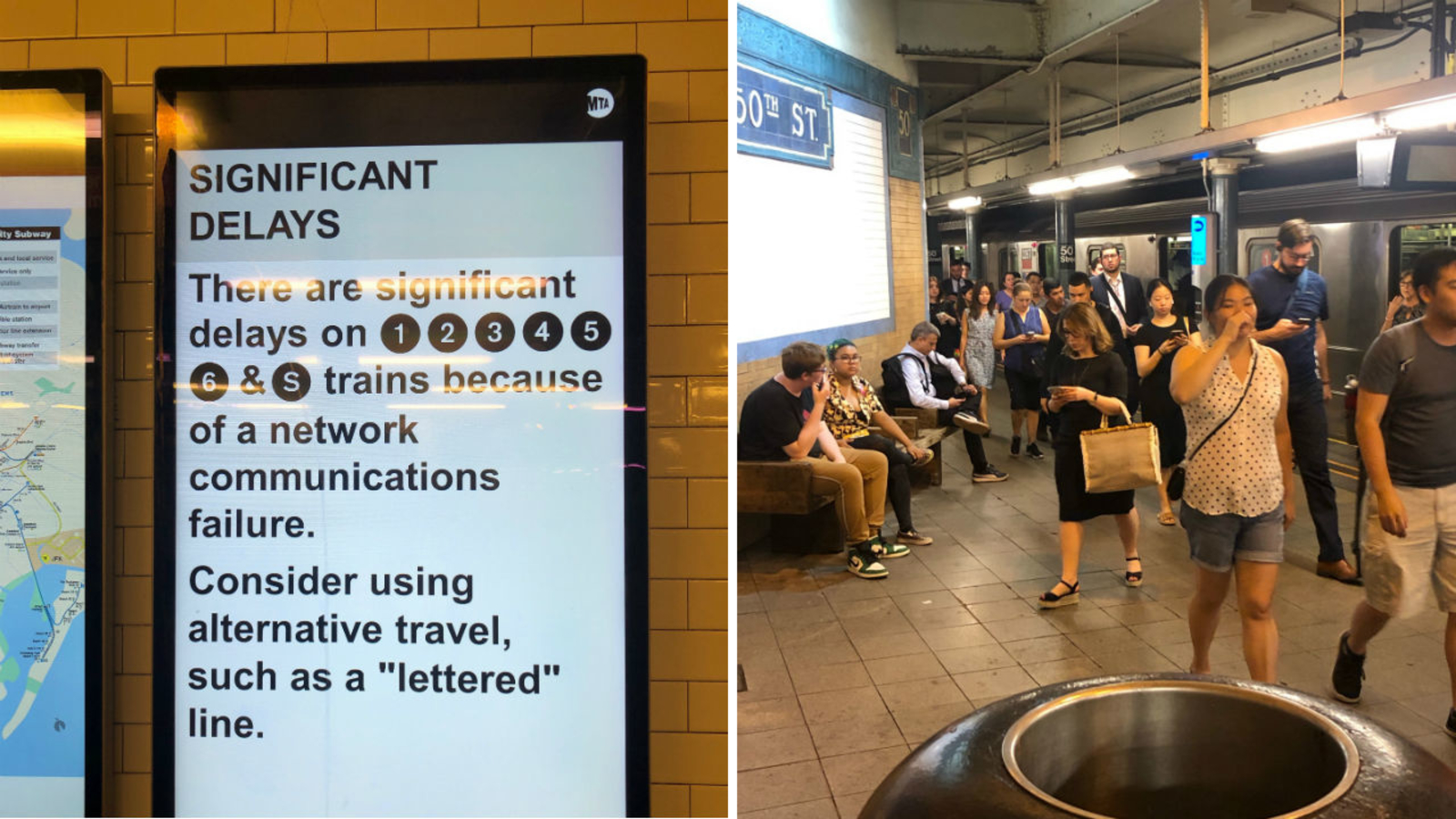 MTA restoring service after 'network communications issue' causes suspensions