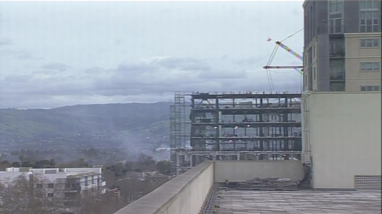 Crews battle two-alarm garage fire at home in San Jose