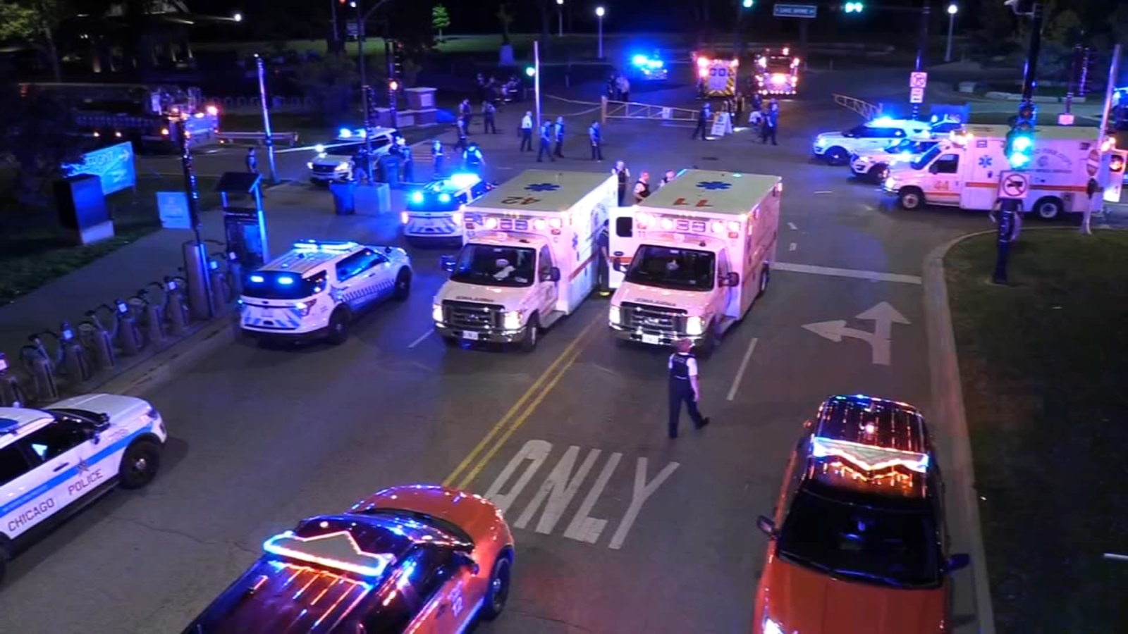 7 shot in separate lakefront shootings on North, South sides