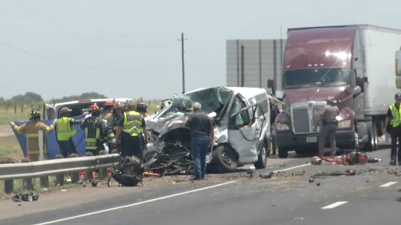 Victoria crash: 5 Brownsville residents killed in multi
