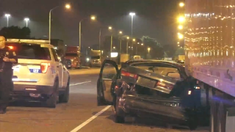 Police: Street racer crashes into parked car, robs driver in South  Philadelphia