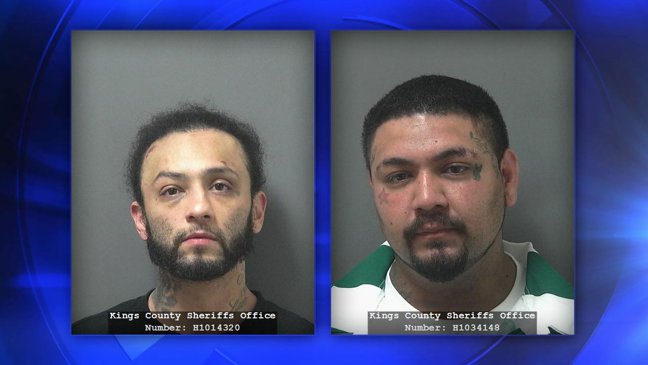 Suspects Roger Silva (left) and Gabriel Sanchez (right)