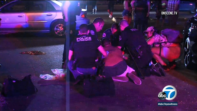 Pomona: Shooting leaves 1 dead as partygoers return to their vehicles in  parking lot