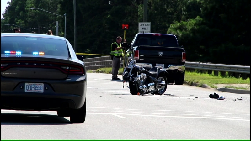Police investigating after woman killed in motorcycle crash in Fayetteville