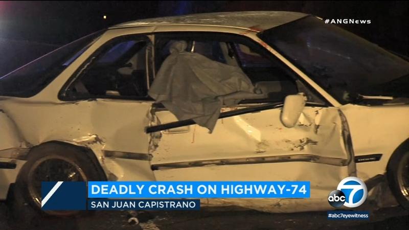 Woman dies in crash on San Juan Capistrano highway