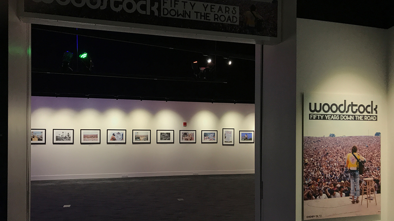 New exhibit celebrates Woodstock at The Grammy Museum
