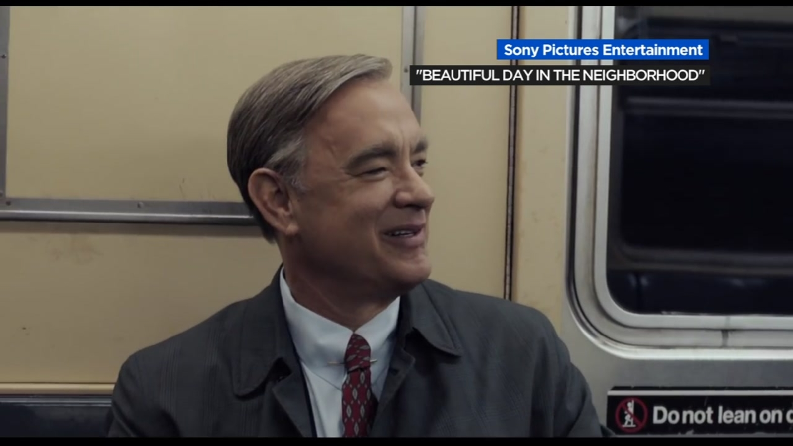 Watch Tom Hanks As Mister Rogers In New Movie Trailer For Beautiful Day In The Neighborhood Abc7 New York