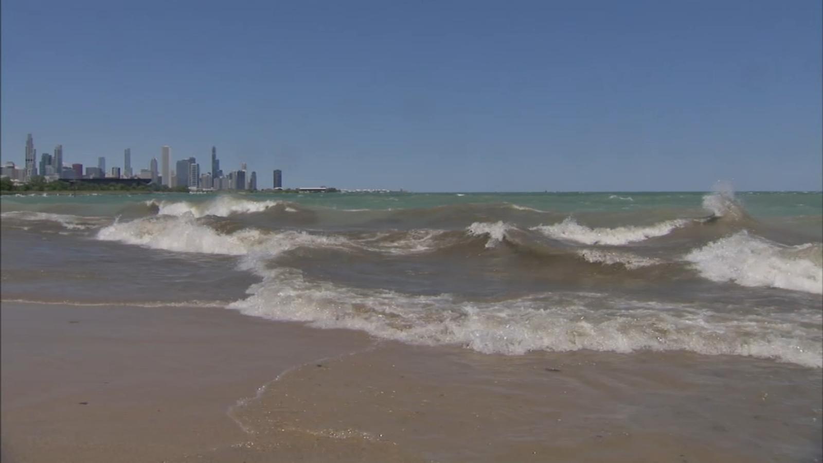 Chicago Weather: Beach Hazard in effect along Lake Michigan