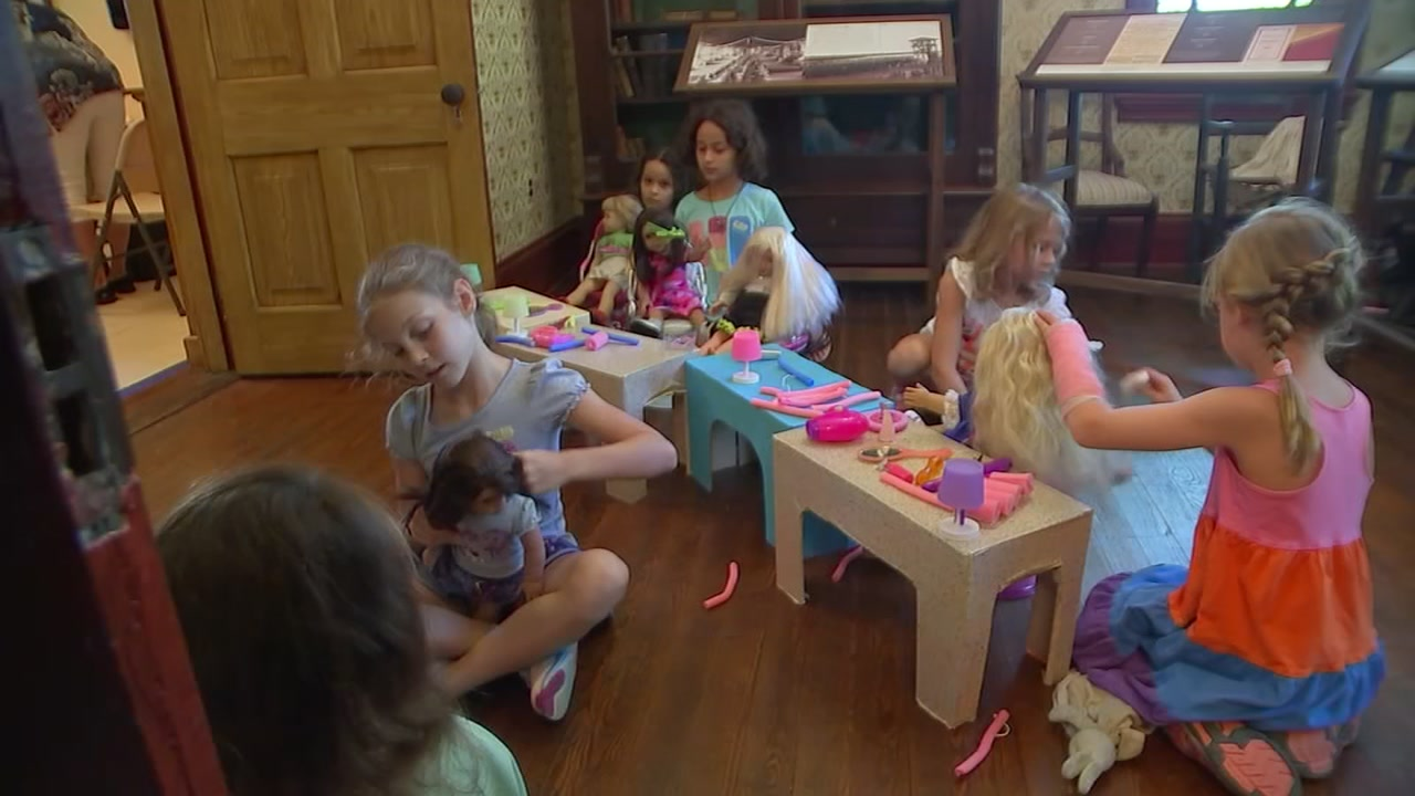 North Carolina doll camp takes children back to yesteryear