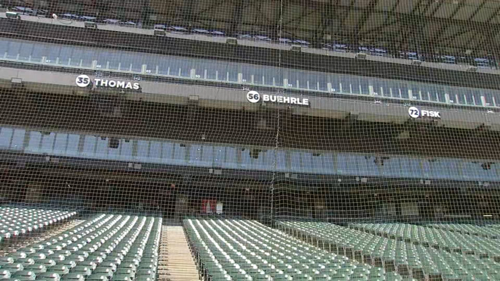 White Sox debut extended safety netting at Guaranteed Rate Field