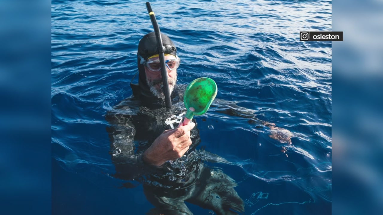 French swimmer continues journey from Hawaii to San Francisco through Great Pacific garbage patch