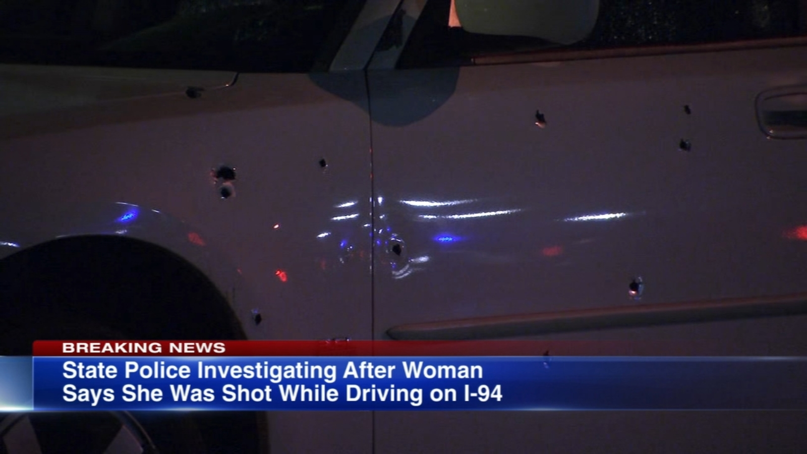 1 injured in reported I-94 expressway shooting, SB lanes shut down from 130th to Dolton Ave for investigation