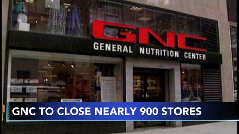 GNC to close nearly 900 stores