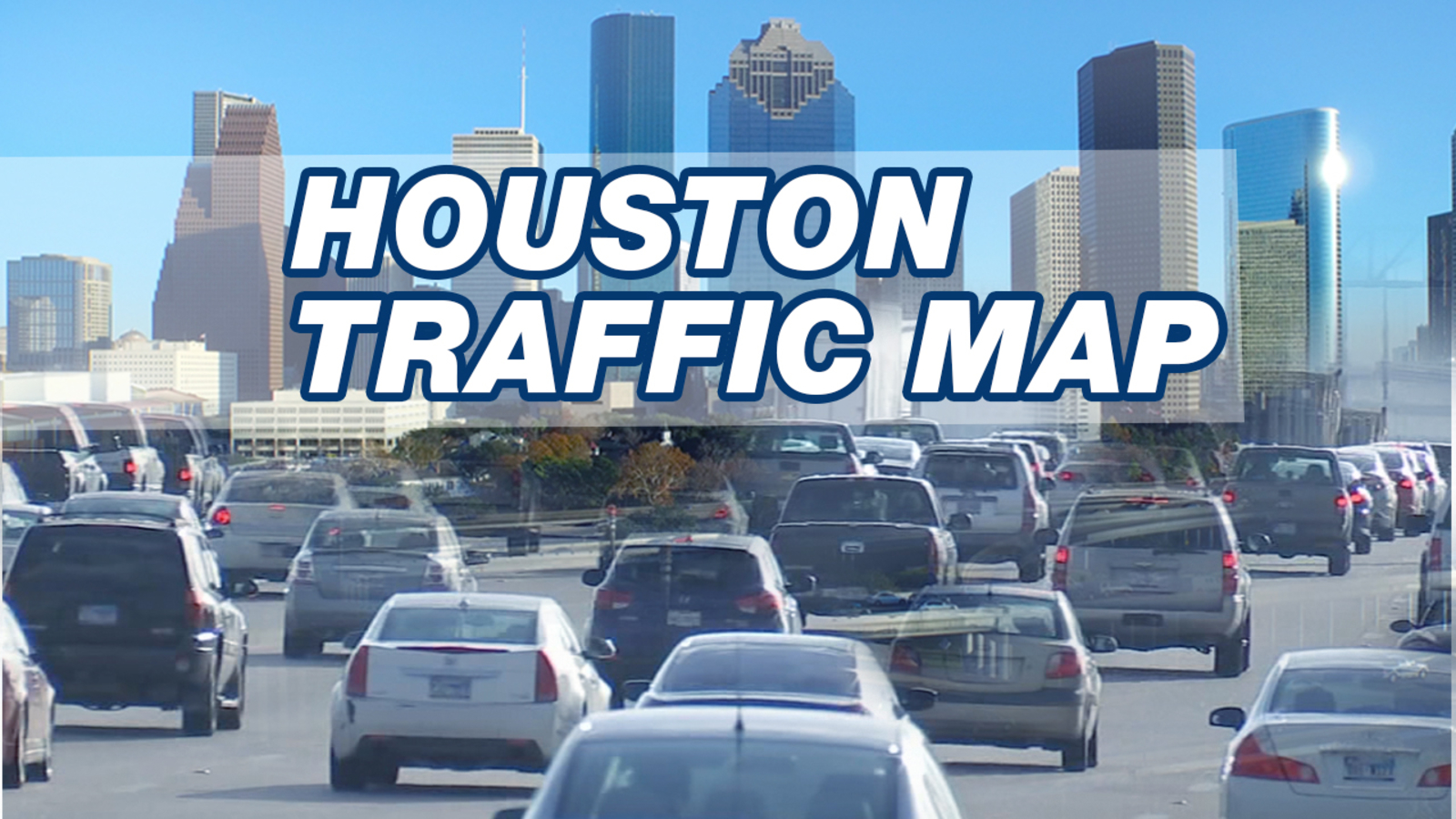 Houston Realtime Traffic Map HOUSTON TRAFFIC: Check Houston traffic map for current road