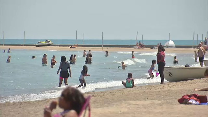 Chicago-area beaches were unsafe for swimming on at least one day last  year, report says