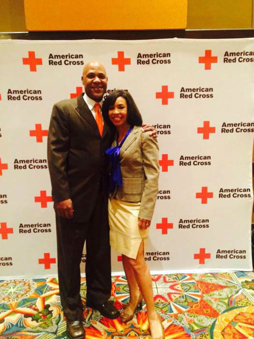"""<div class=""""meta image-caption""""><div class=""""origin-logo origin-image none""""><span>none</span></div><span class=""""caption-text"""">Gina Gaston and her husband at the Houston Red Cross luncheon (KTRK Photo)</span></div>"""