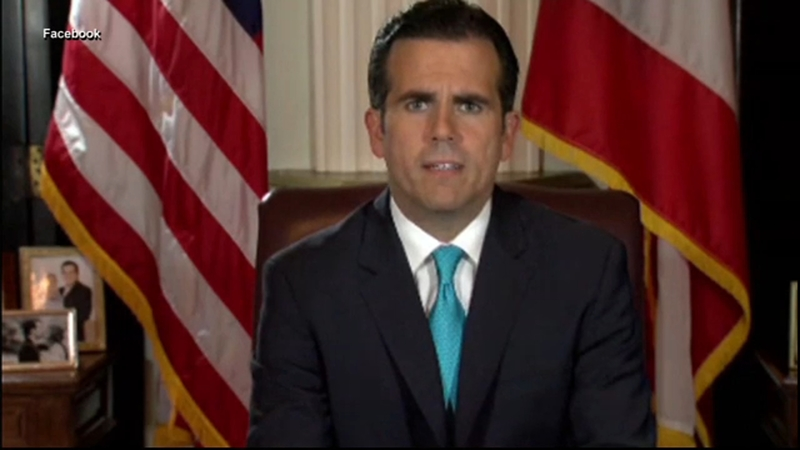 Puerto Rico Governor Ricardo Rossello announces resignation