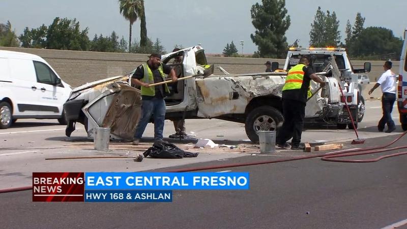 Deadly crash in east central Fresno