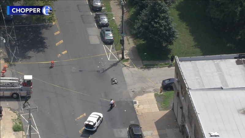Cobbs Creek motorcycle crash leaves driver in critical condition