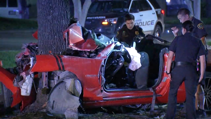 Woman dead, another injured after violent crash into tree