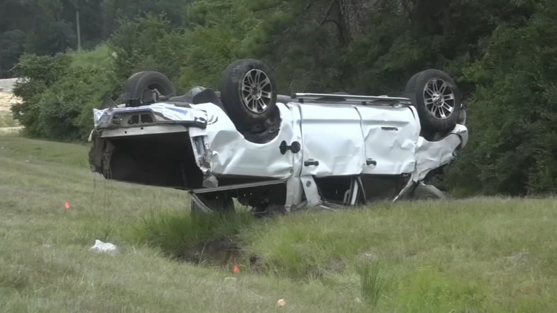 8-year-old dead after major crash on I-45N in Montgomery Co