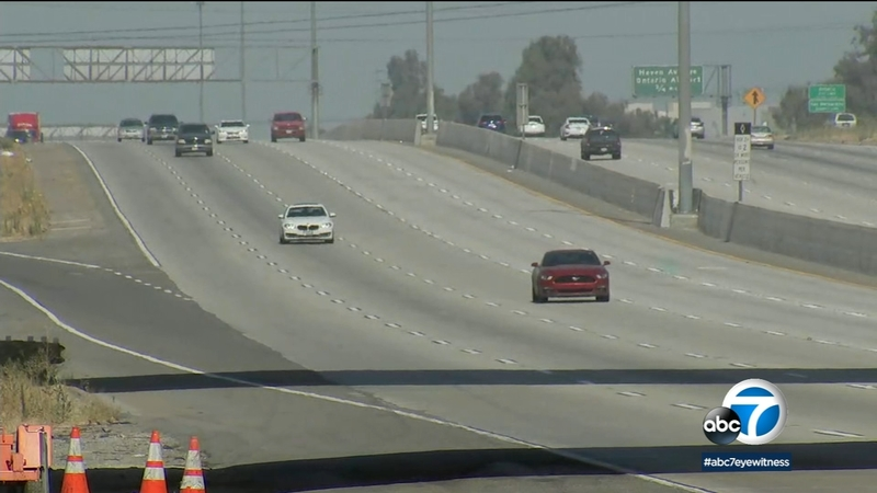 60 FWY reopens as crews finish first weekend of major construction project  early