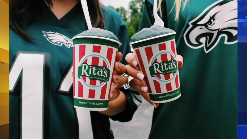 Rita's unveils 'Go Birds!' flavor to honor Philadelphia Eagles