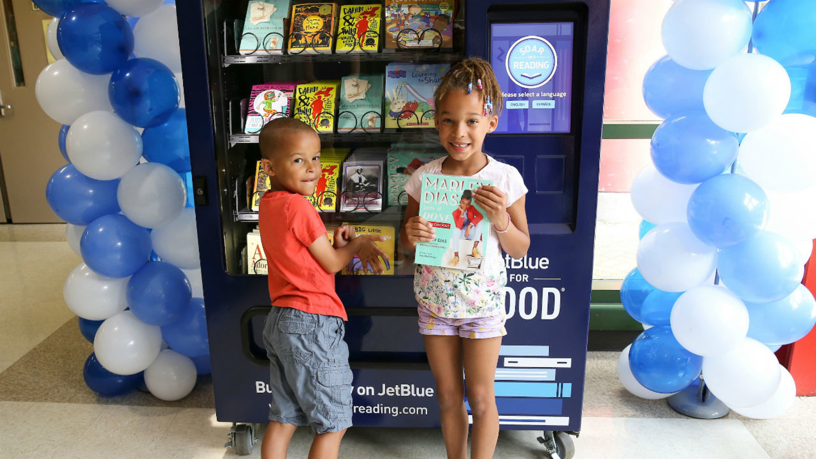 Vending machines filled with free books come to New York City