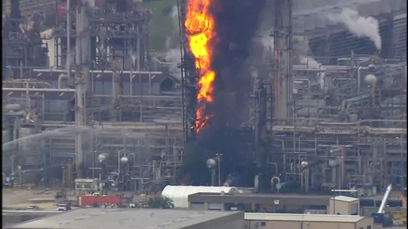 66 treated in ExxonMobil plant fire in Baytown