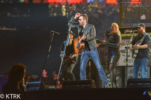"<div class=""meta image-caption""><div class=""origin-logo origin-image none""><span>none</span></div><span class=""caption-text"">Eric Church played in front of 57,338 enthusiastic fans during the opening night of the Houston Livestock Show and Rodeo (KTRK Photo/ David Mackey)</span></div>"