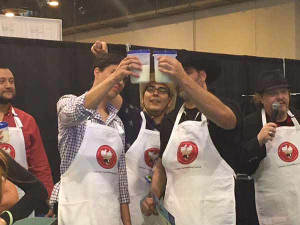 """<div class=""""meta image-caption""""><div class=""""origin-logo origin-image none""""><span>none</span></div><span class=""""caption-text"""">The two top finishers competed in a milk off (KTRK Photo)</span></div>"""
