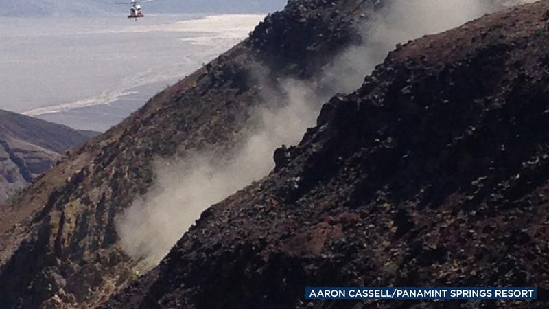Navy: Pilot died in fighter jet crash in Death Valley National Park