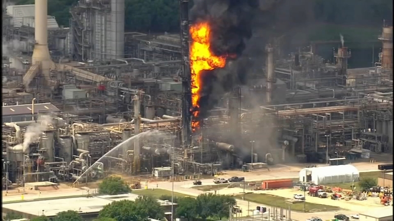 ExxonMobil sued after fire for violating Texas Clean Air Act
